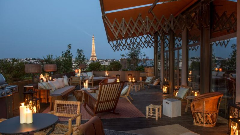 image to show boutique hotels in Paris