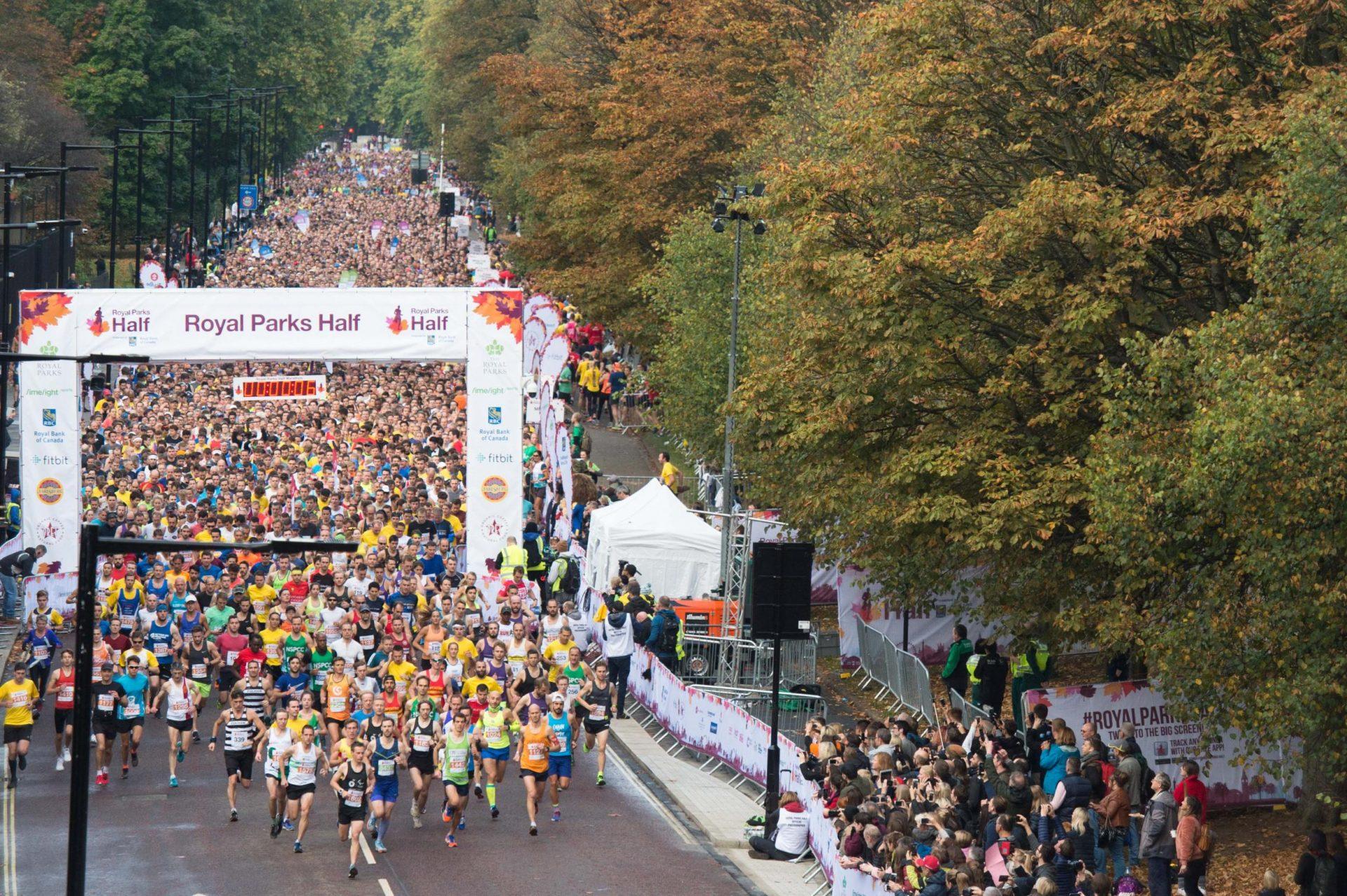 image of the royal parks half marathon