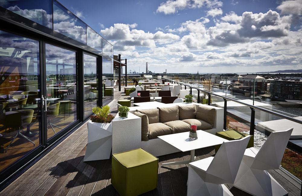 Image of Ireland incentive venue Marker Hotel terrace