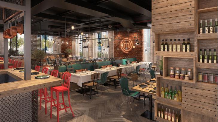 Image if the first masterchef restaurant in Dubai