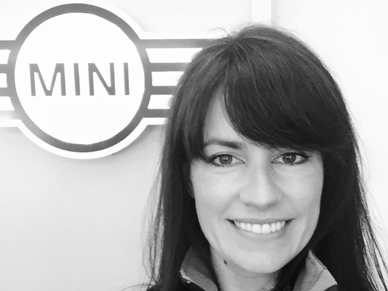 Helen Boakes, Events and Brand Partnerships Manager, MINI speaking for micebook event 2019