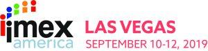 logo banner for imex america las vegas 2019