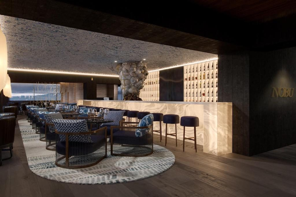 Nobu restaurant at the Nobu Barcelona reviewed by micebook