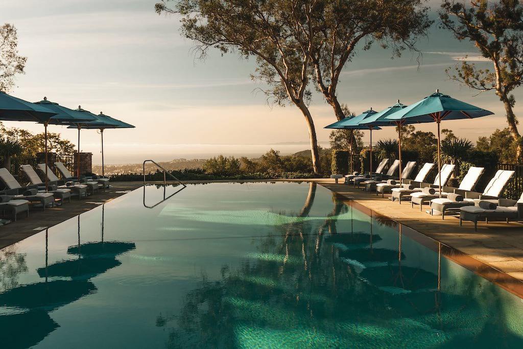 image of hollywood venue Belmond El Encanto pool