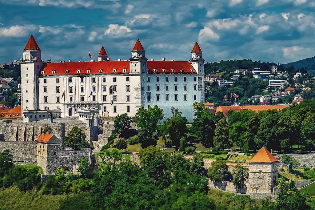 image of new hotel in bratislava