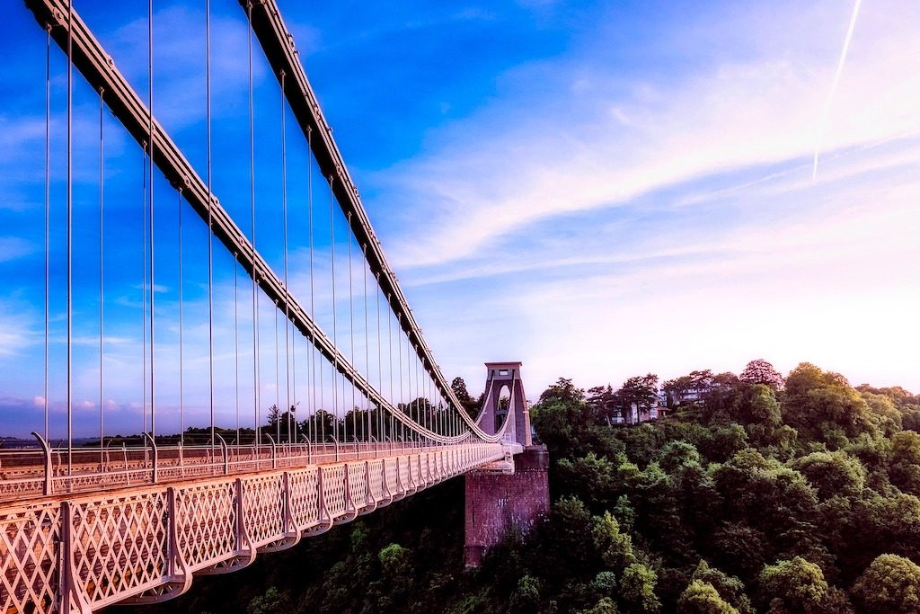 image of bridge in bristol a meetings and incentives destination