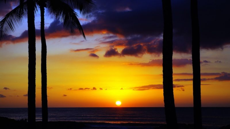 image of sunset in hawaii perfect incentive destination