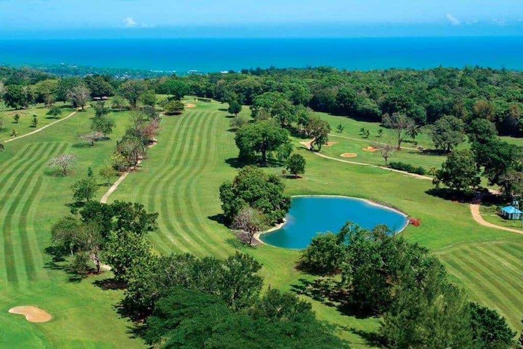 The golf resort of Sandals OCHI in Jamaica