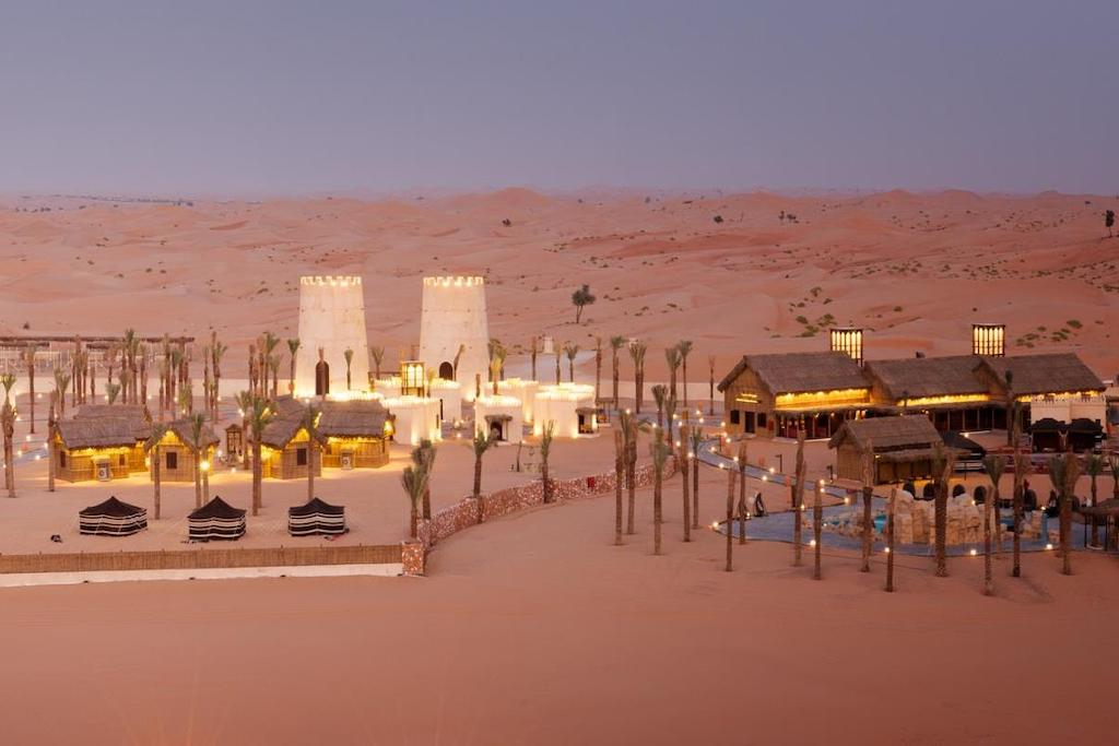 image of arabian nights heritage village in abu dhabi
