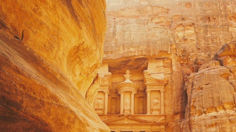 Image of Petra in Jordan as a incentive destination