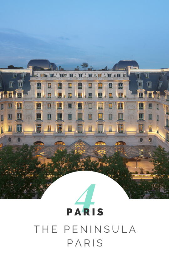 Peninsula Paris on micebook