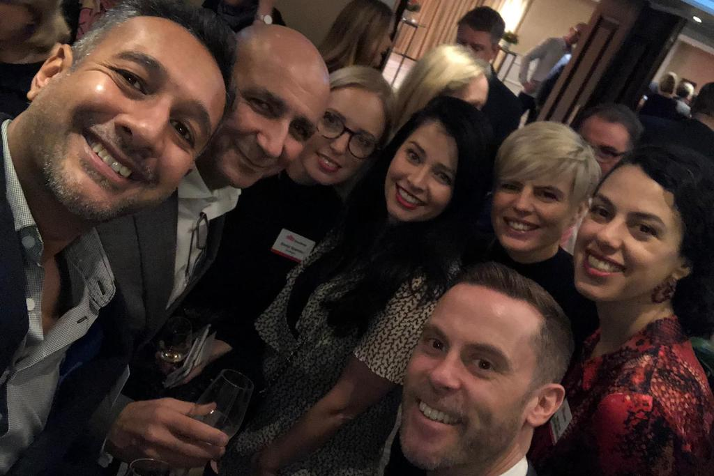 micebook team at the site gb london event