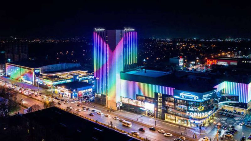 Radisson Hotel Gorizont opening in Russia