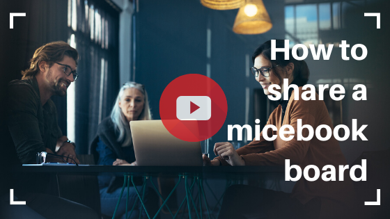 How to Share a micebook board