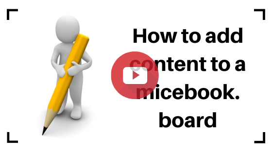 Training on how to Add content to micebook