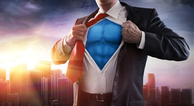 image of superhero for micebook training opportunities