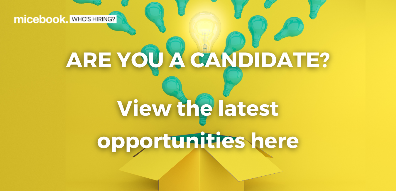 find a job in the events industry