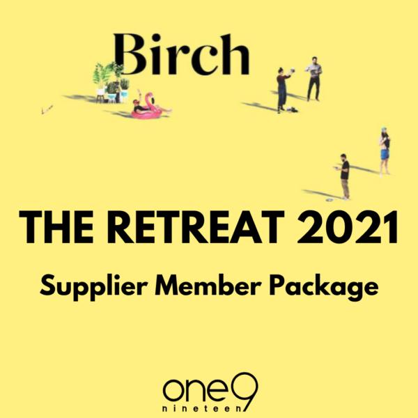 supplier member retreat package